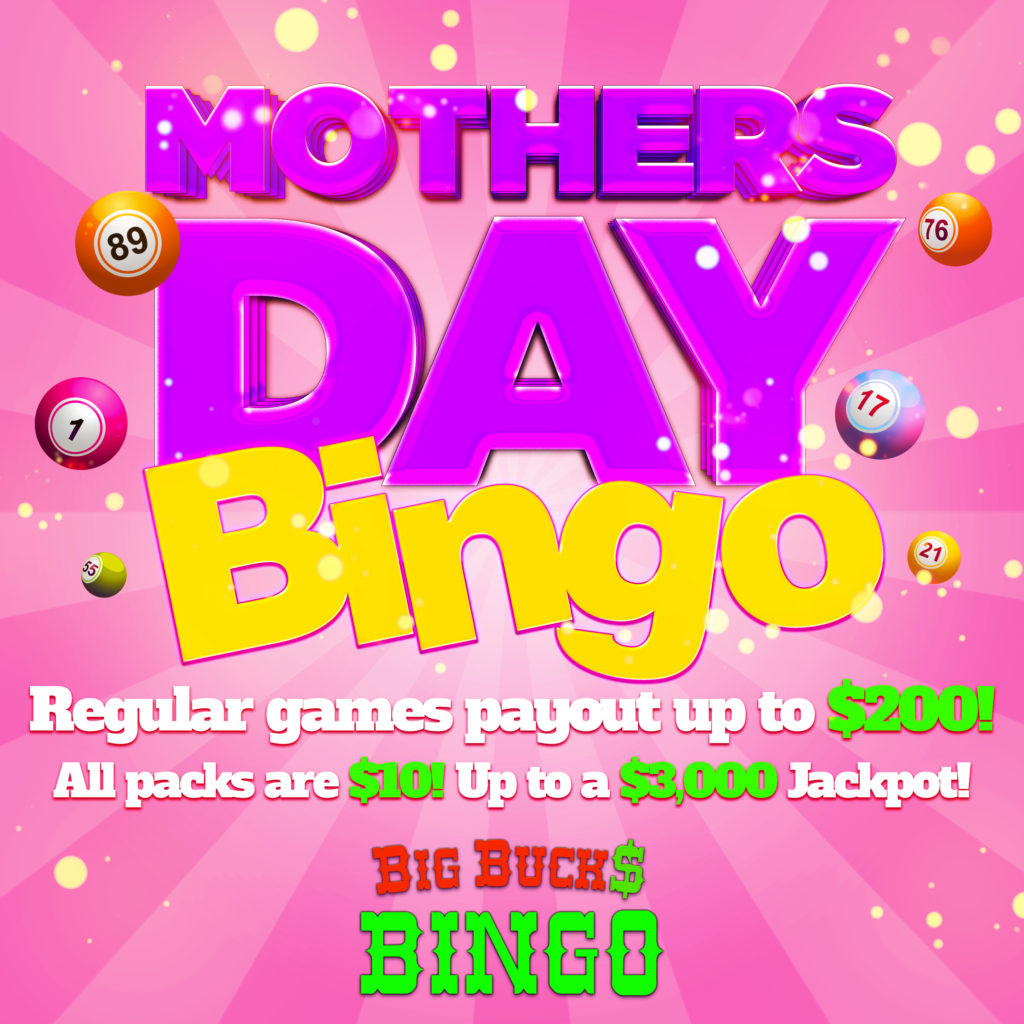 mothers day bingo 2016